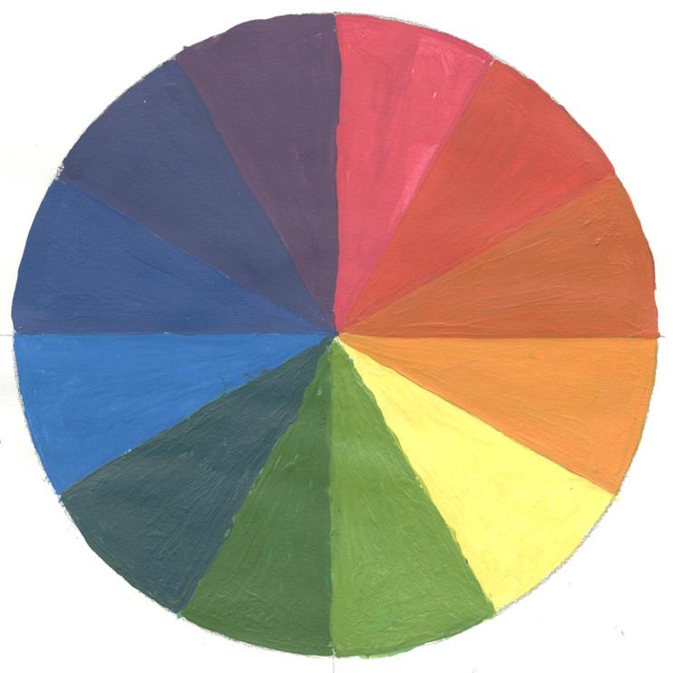 Mundo pintura - Circulo cromatico 12 colores ...